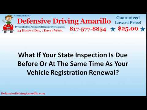 Vehicle Registration Renewal Has Changed In Texas
