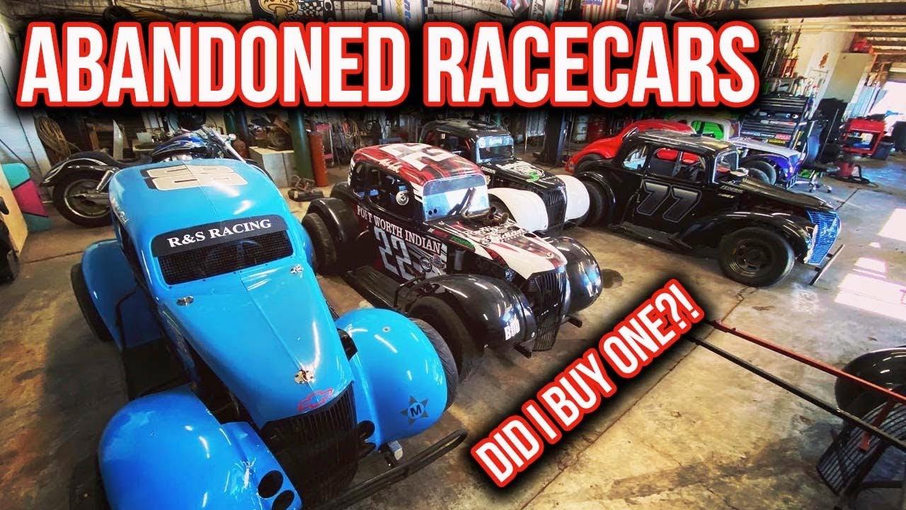 Exploring Abandoned Racecar Shop!/Legends Series Graveyard