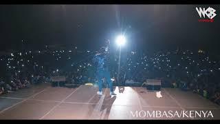 Diamond Platnumz -  Performing live at Mombasa  Part 2 (wasafi festival 2018)