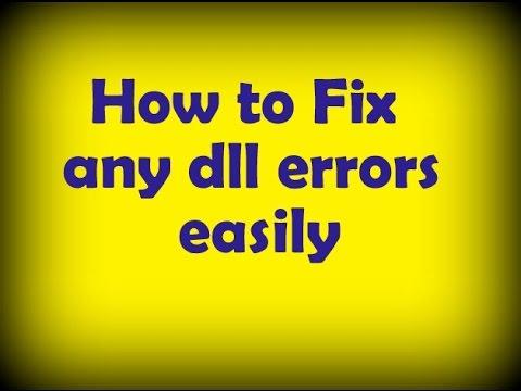How to Fix any dll errors easily | dll ফাইল মিসিং সমস্যা সমাধান