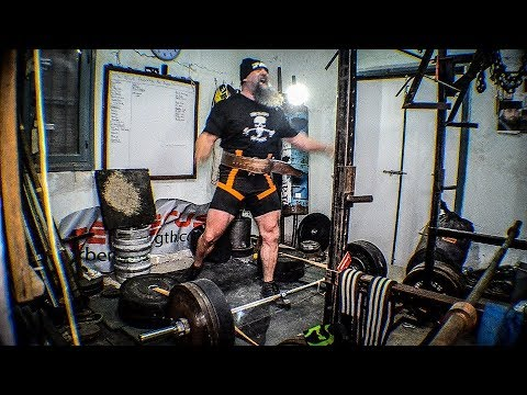 High Rep Powerlifting! Squats, Speed Deads, Heck...I did it ALL!