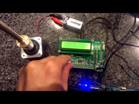 High speed stepper motor 260 kHz