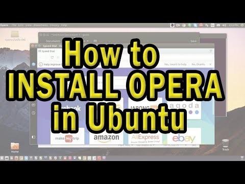 Install Opera Browser in Ubuntu/Linux system quickly!