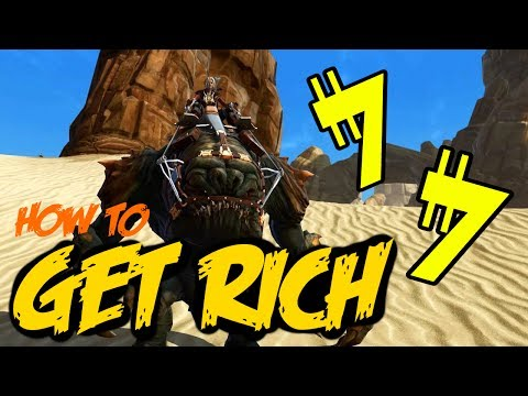 SWTOR: HOW TO GET RICH/ MAKE CREDITS