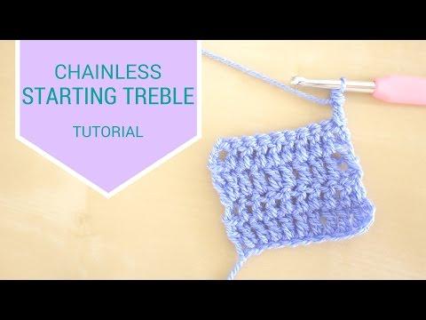CROCHET BASICS: Chainless starting treble | Bella Coco