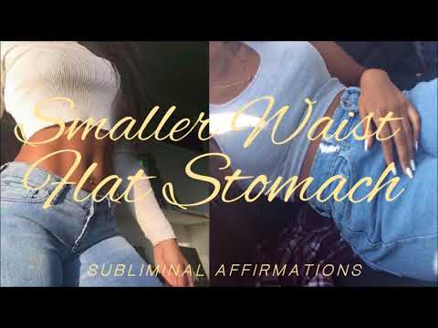 Smaller Waist + Flat Stomach || Subliminal Affirmations