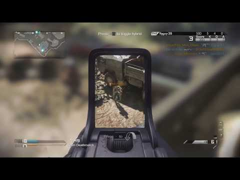 Call of Duty® Ghosts Kill Gameplay With Cross Map Payback Throwing Knife