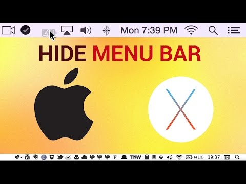 How to Hide The Menu Bar on Mac