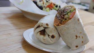 بوريتو - طعام تقليدي مكسيكي  Burrito