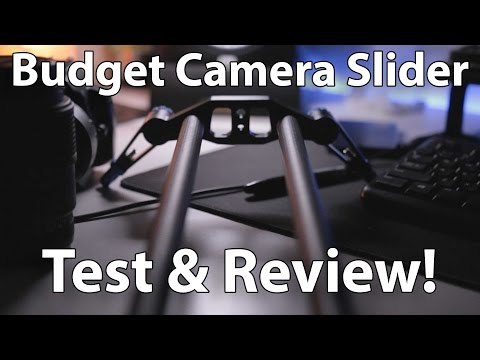 Pro Camera Slider For Under $100! Selens 31