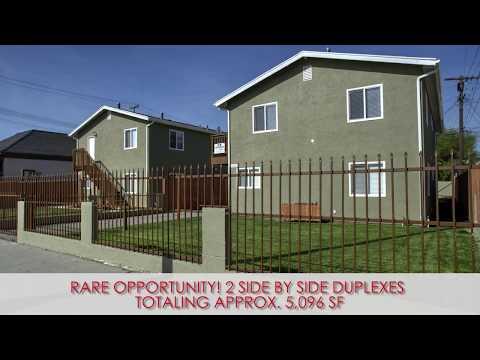 2 Non-Rent Control Section 8 Duplexes