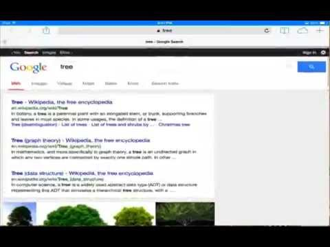 how to change search from yahoo to google, bing on your iPad iphone and iPod