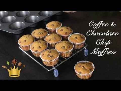 Coffee and Chocolate chip Muffins