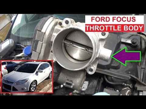 Throttle Body Replacement Ford Focus MK3 MKIII 2011 2012 2013 2014 2015 2016