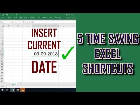 5 TIME SAVING EXCEL SHORTCUT KEYS | OFFICE TIPS | WINDOWS 10 EXPLORE