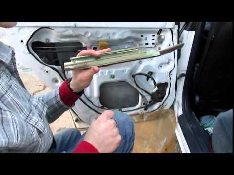 Toyota Corolla Rear Power Window Repair