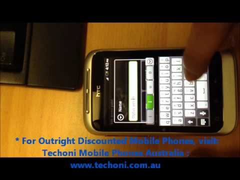 How to configure & setup the Internet Settings on an Android Device: Optus, Telstra, Vodafone