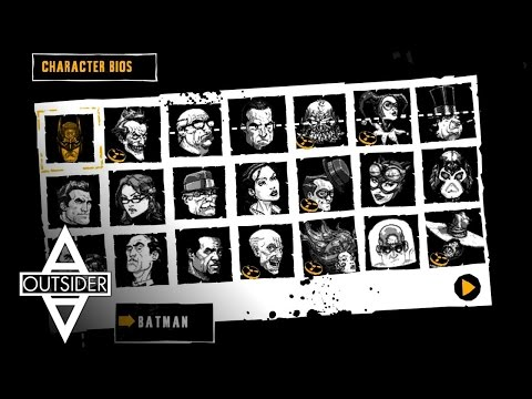 Batman: Arkham Asylum - Character BIOS & Interviews