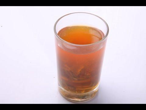 HOT LEMON TEA WITH MINT - In Hindi