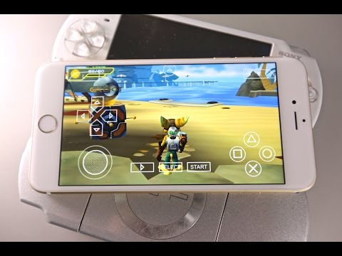 How To Install Full Speed PSP Emulator With Games on iPhone, iPad & iPod Touch