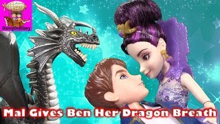 Mal Gives Ben Her Dragon Breath - Part 12- Descendants Prom Series | Disney