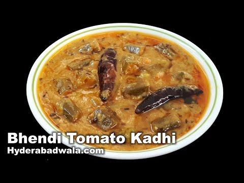 Bhendi Tamatar Ki Kadhi Recipe Video -  How to Make Ladyfinger Tomato & Chickpea Flour Curry