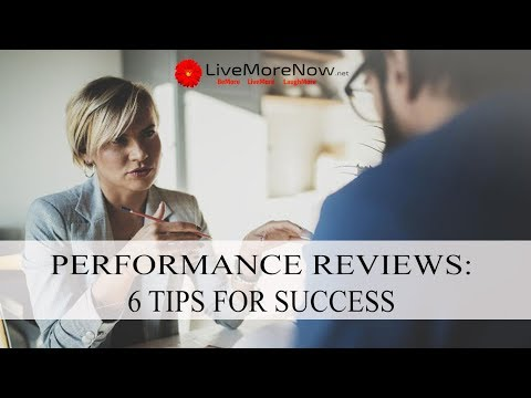How to Ace Your Performance Review: 6 Tips