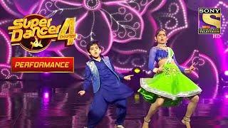 Sanchit और Vartika का Rocking-Popping Performance | Super Dancer 4 | सुपर डांसर 4