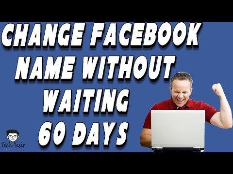 How To Change Facebook Name Without Waiting 60 Days Easy Trick 100% Working