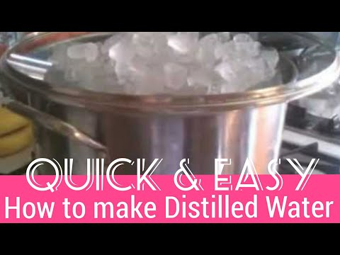 How to make Distilled Water| For Cleaning a Dooney and Bourke Leather Purse
