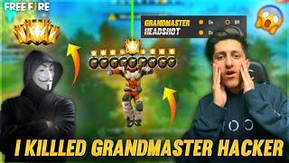 I Killed Grandmaster Hacker In Ranked Match New Rank Season - Garena Free Fire
