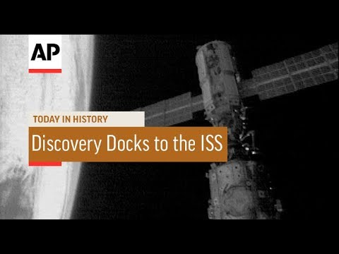 Discovery Docks to the ISS - 1999 | Today In History | 29 May 18