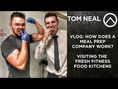 VLOG: How does a Meal Prep Company Work? Visiting the Fresh Fitness Food Kitchens