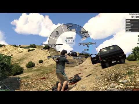 GTA 5 Pro Sniping - Sniper Rifle HeadShot Spree [2016]