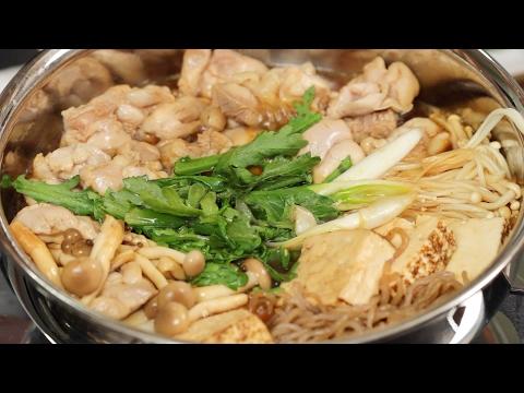 Torisuki (Chicken Sukiyaki Recipe) | Cooking with Dog