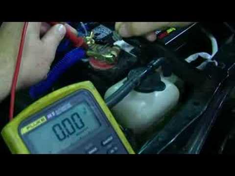 Starter Circuit Voltage Drop
