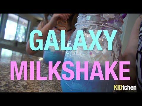 In the KIDtchen: Galaxy Milkshake