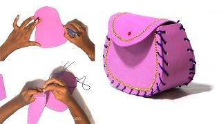 DIY Crafts - Women's Wallet   Bag
