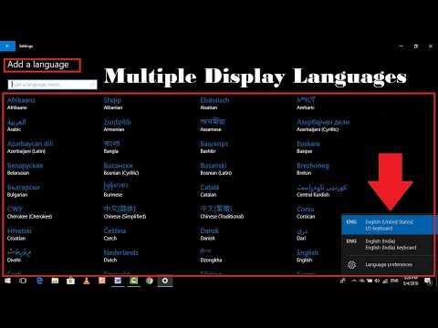 How to Add Multiple Display Languages on Windows 10 Without Software
