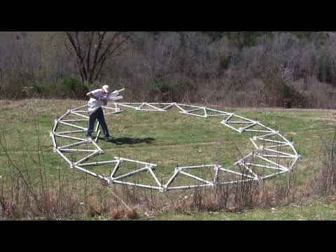 How to Build a 4v Geodesic Dome