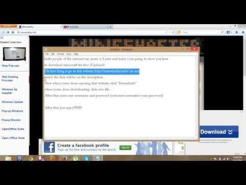 (FIXXED)How to get Minecraft for FREEEEEEEEEEEE!!!!!!