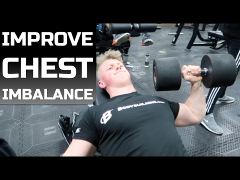 How To Improve CHEST IMBALANCE  | Bigger Bench Press!
