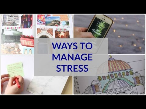 How to Manage Stress! 📝   A Student's Guide