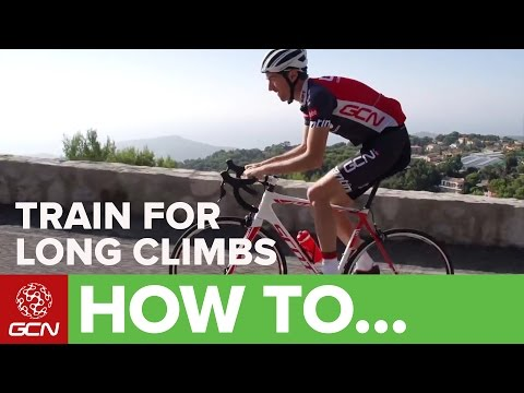 How To Train For Long Climbs