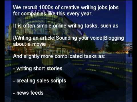creative writing jobs
