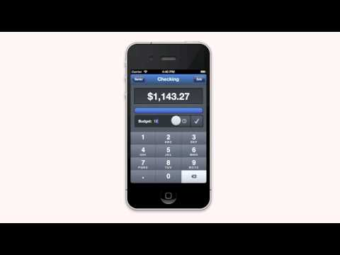 Bankr Personal Finance App for iPhone and iPod Touch