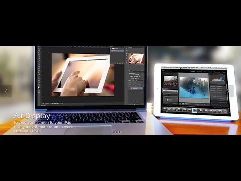 Make Your iPad a Second Monitor (dual display) 2016