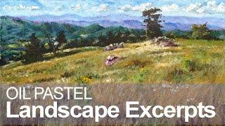 Download Oil Pastel Landscape Demonstration Video