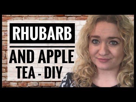 How To Make Rhubarb Tea - Powdered Apple and Rhubarb Tea