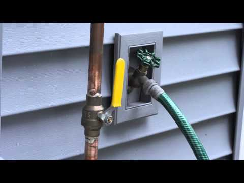 Quick Tips For Homeowners Video Water Shutoff Valves
